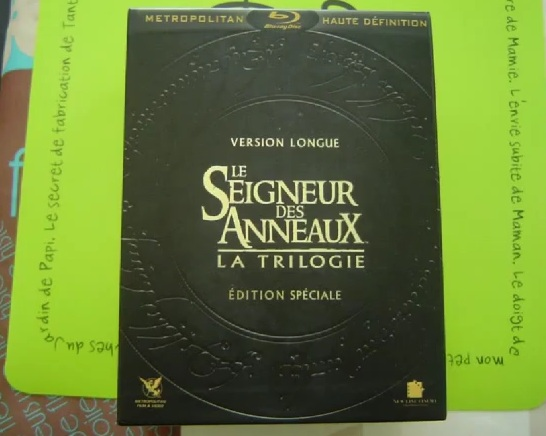 Test vido : Coffret Blu-Ray version longue &quot;Seigneur des Anneaux&quot;