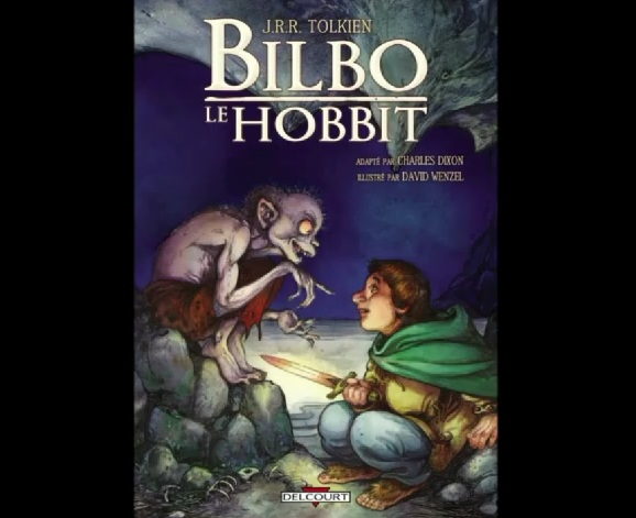Test vido : &quot;Bilbo le Hobbit&quot; la bande dessine