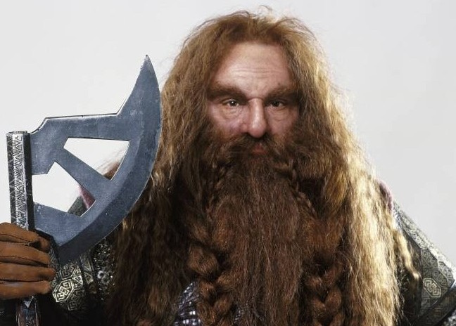 John Rhys-Davies un camo dans Le Hobbit ?