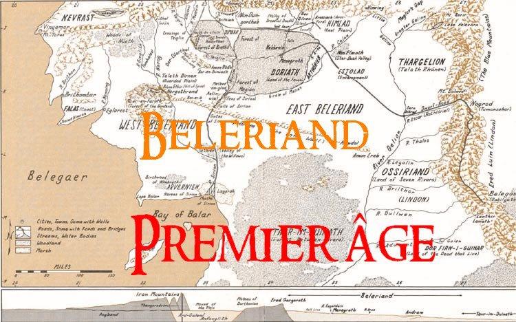 Carte Terre Du Milieu Premier Age.La Geographie Chez Tolkien Tolkiendrim