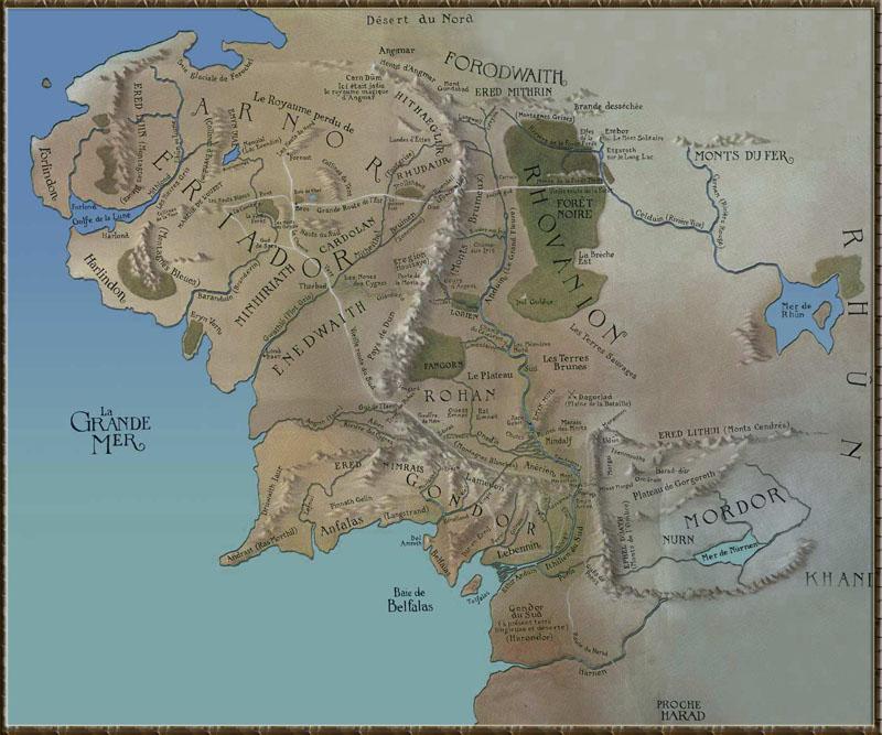 carte terre du milieu