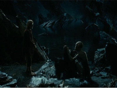 Captures d&#039;crans des extraits du &quot;Hobbit&quot;