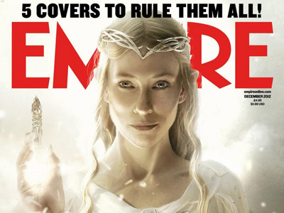 """Le Hobbit"" en couverture d'Empire"