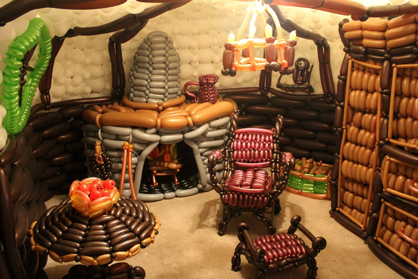 balloon guy le hobbit tolkiendrim. Black Bedroom Furniture Sets. Home Design Ideas