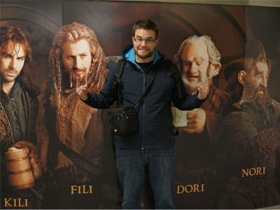 "Photos exclusives de l'avant-première du ""Hobbit"" à New-York"