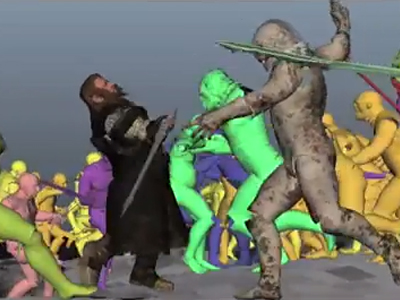 "Making of du ""Hobbit"" par Weta"