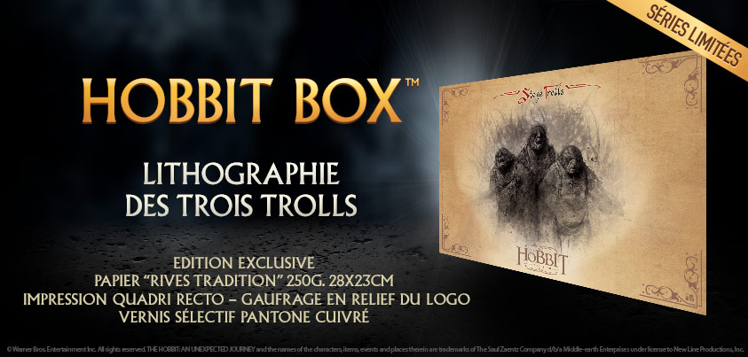 Votre coffret &quot;Le Hobbit&quot; personnalis, c&#039;est dsormais possible.