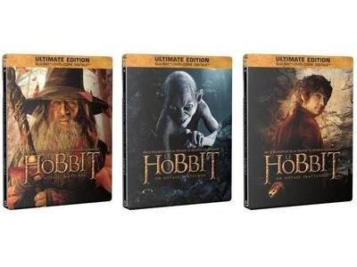Le Hobbit Blu-ray 3 editions 400x300