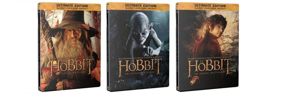 Le Hobbit Blu-ray 3 editions