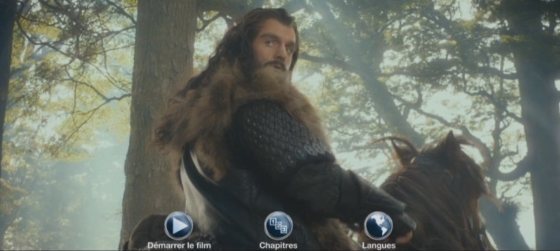 Menu DVD Hobbit