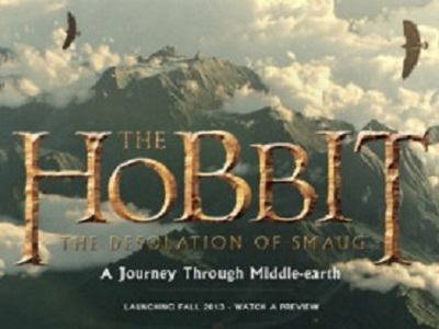 "L'expérience Google Chrome, ""The Hobbit : A Journey Through Middle-earth"""