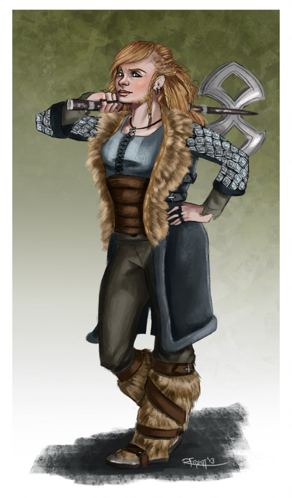 Dwarf Woman - RachelleFryatt