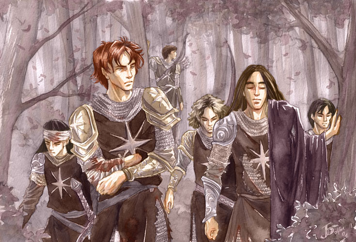 The Dispossessed (Caranthir, Maedhros, Celegorm, Maglor, Curufin)
