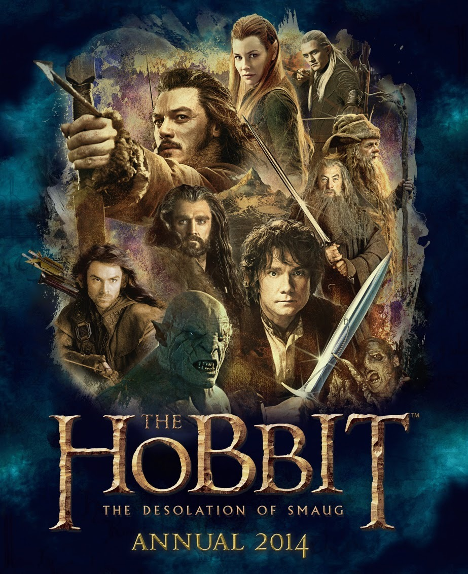 The Hobbit : Desolation of Smaug - Annual 2014