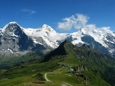 Eiger Mönch Jungfrau 400x300