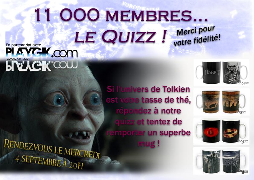 Quizz 11 000 membres !