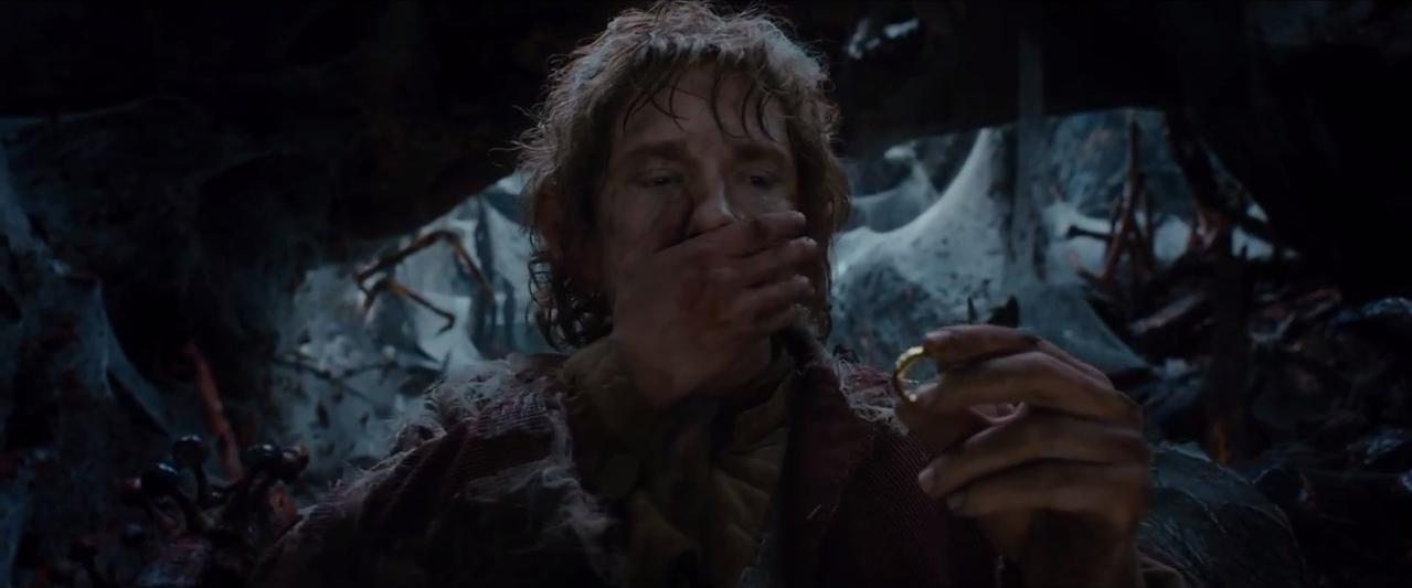 Bilbo Anneau Mirkwood