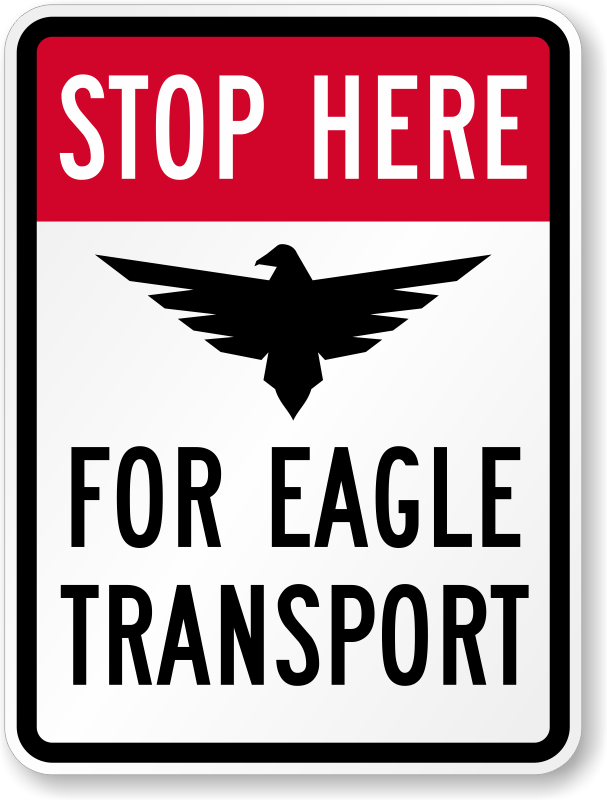 eagle-transport-funny-road-sign-k-0391