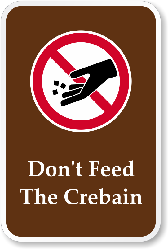funny-dont-feed-crebain-sign-k-0393