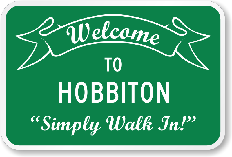 welcome-to-hobbiton-funny-sign-k-0396