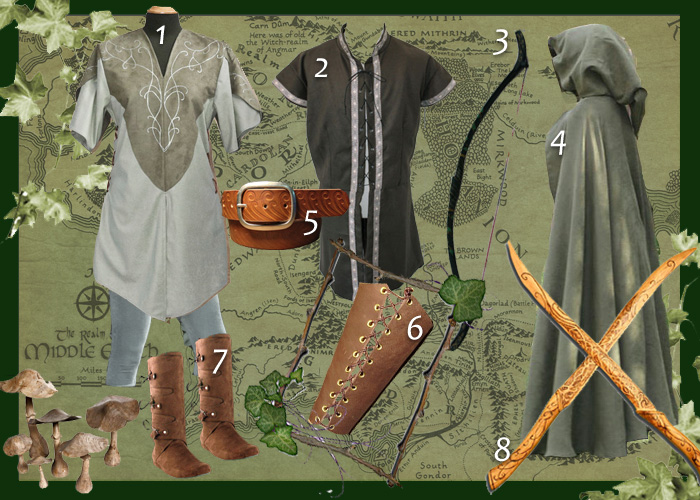 Costume elfe Homme