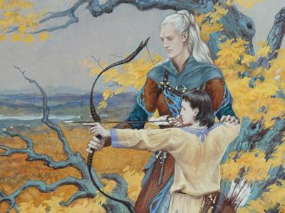 Elena Kukanova illustre l'univers de Tolkien