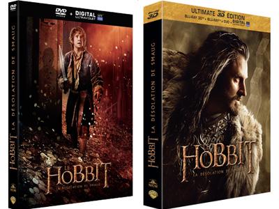 Le DVD/Blu-ray de la Désolation de Smaug sort aujourd'hui !