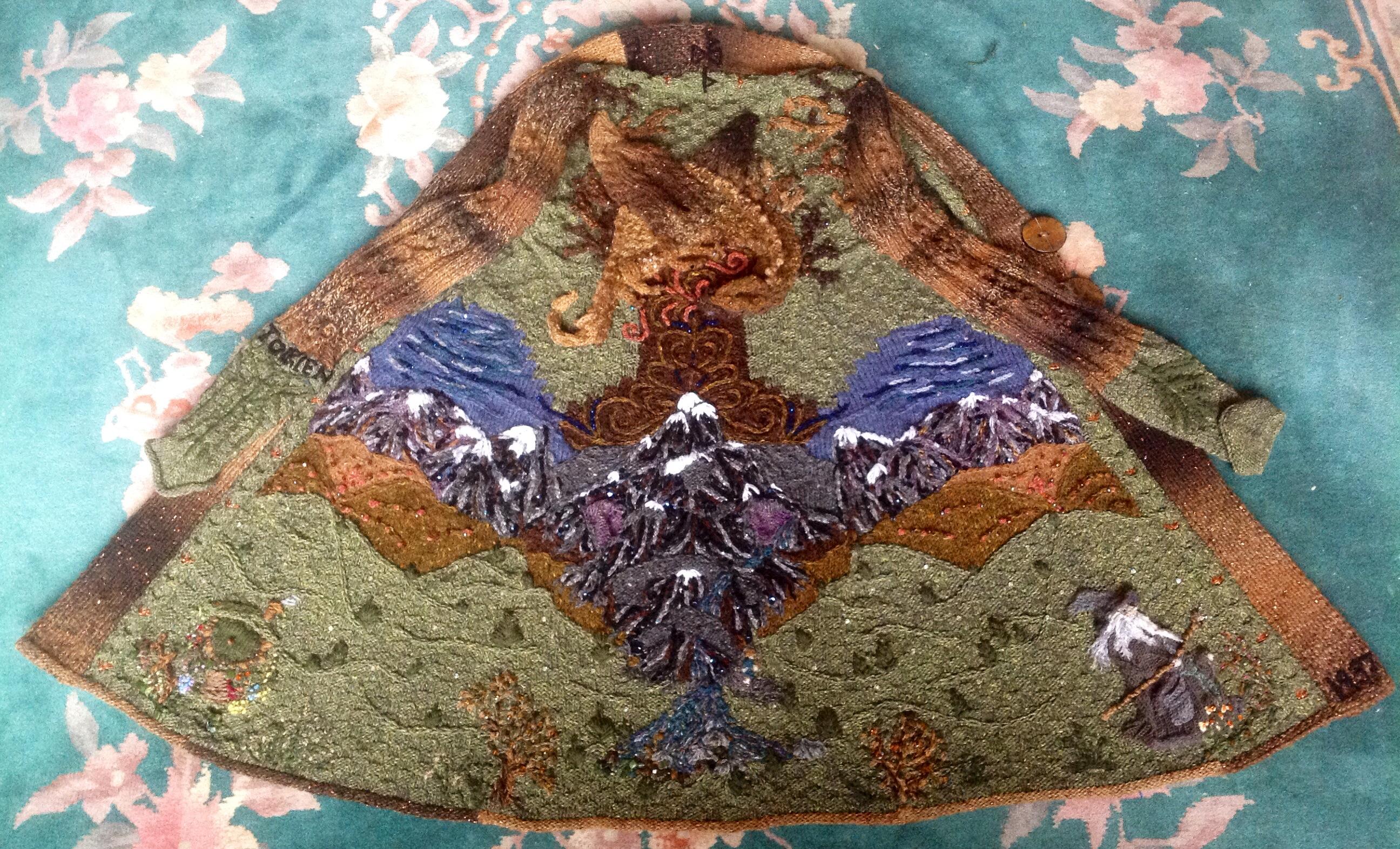 Hobbit tricot veste 2