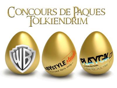 Concours de Pâques Tolkiendrim : la chasse à l'oeuf est ouverte !