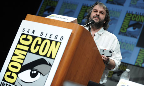 Peter Jackson at Comic-Con 2012, San Diego