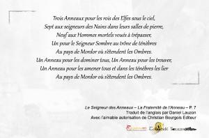 Extrait poeme de l'Anneau