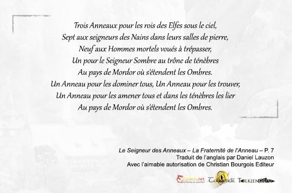 Poeme de l'Anneau