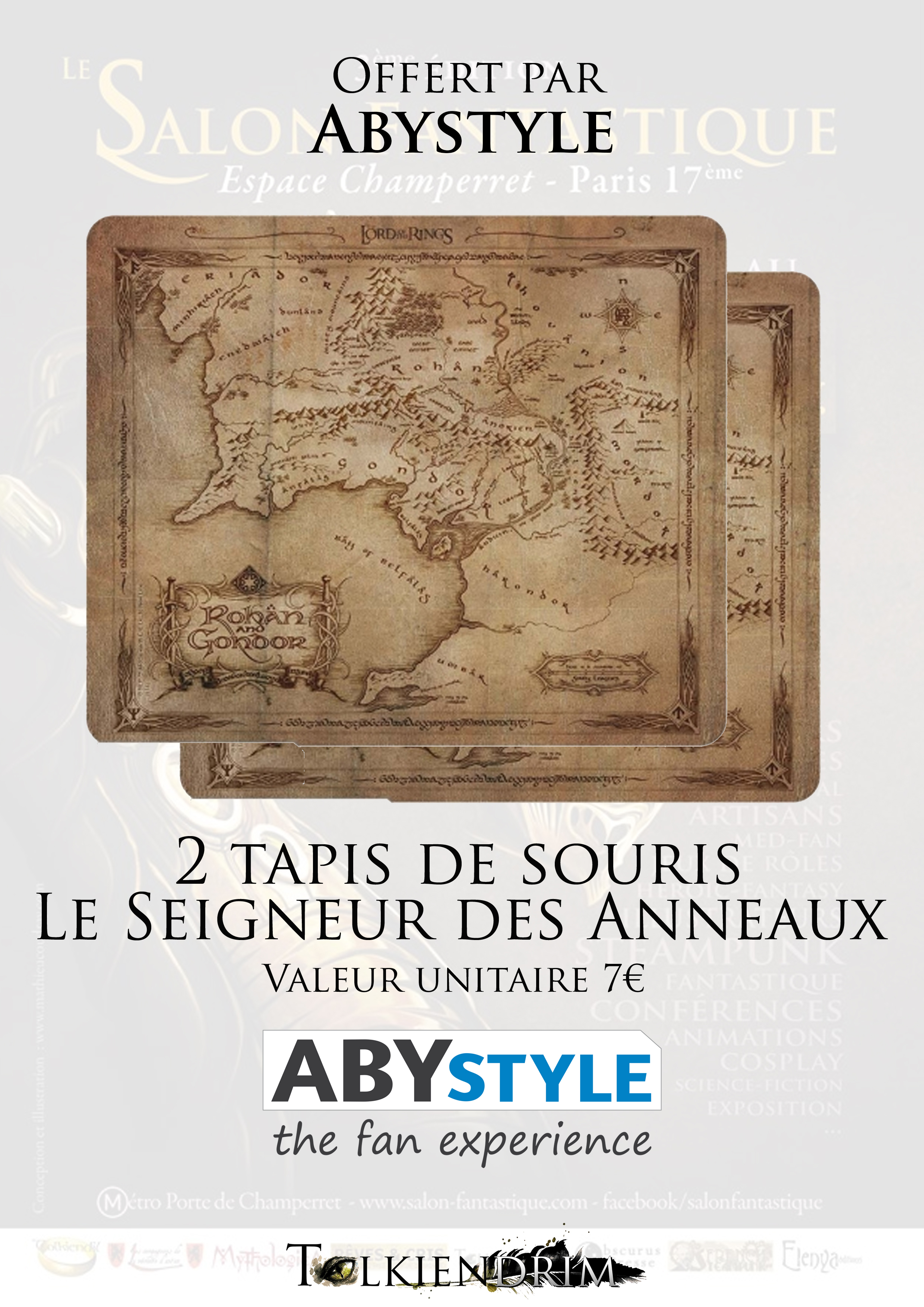 2-Abystyle Tapis Souris