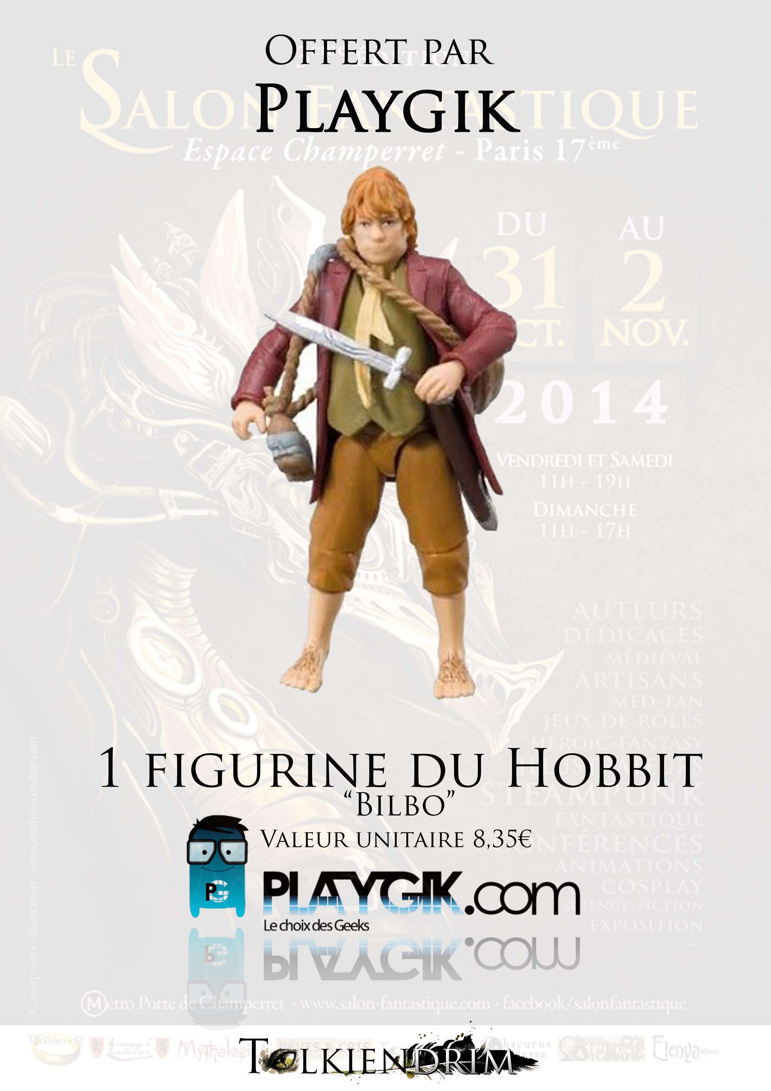 3-Playgik Figurine Bilbo