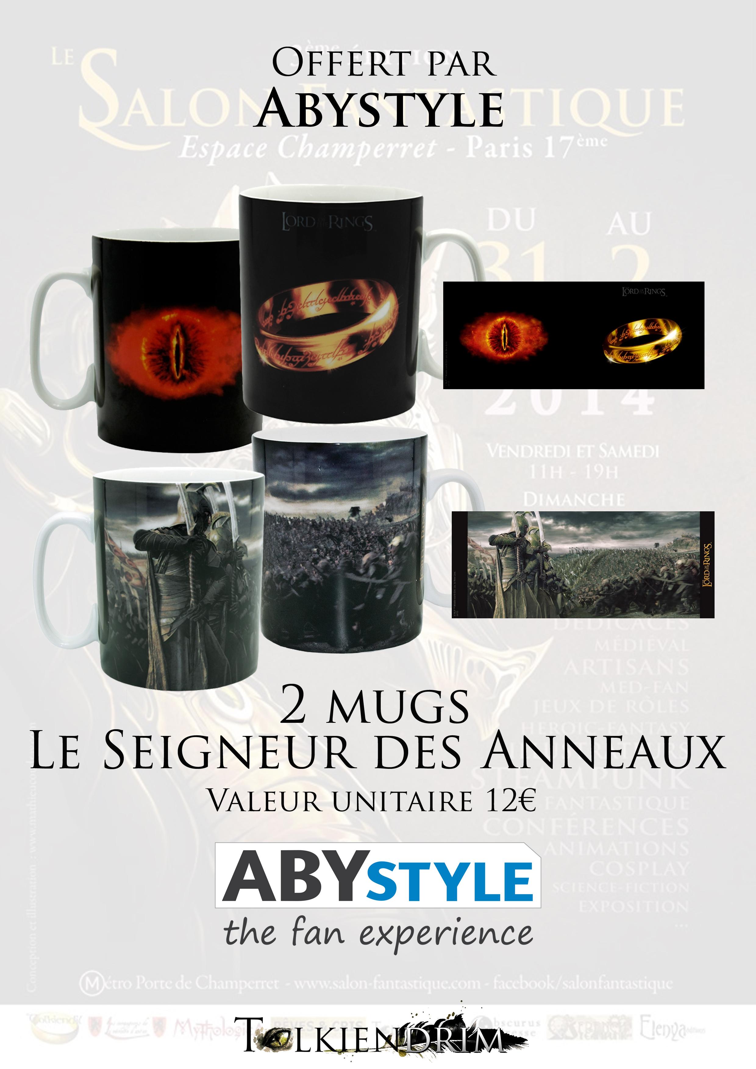 4-Abystyle Mugs