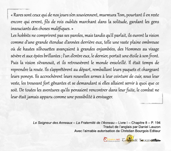 Extrait p.194 Tom Bombadil