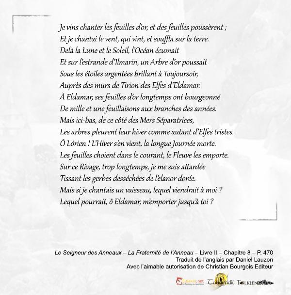 Extrait p.470 chanson Galadriel
