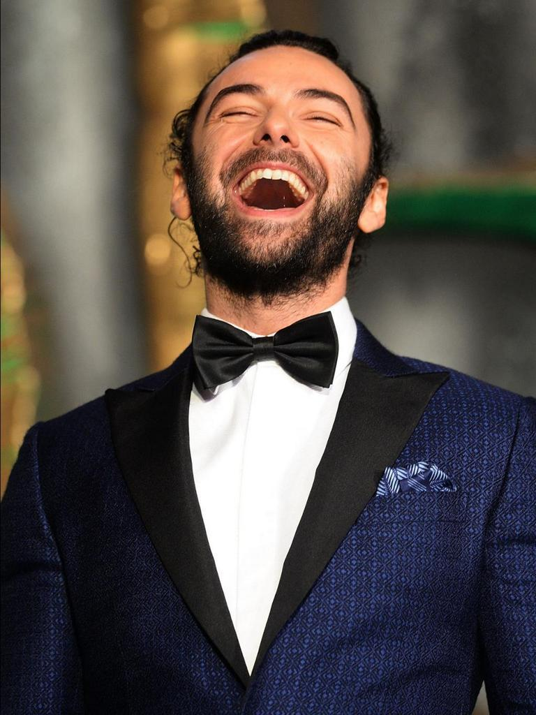 Aidan Turner London premiere
