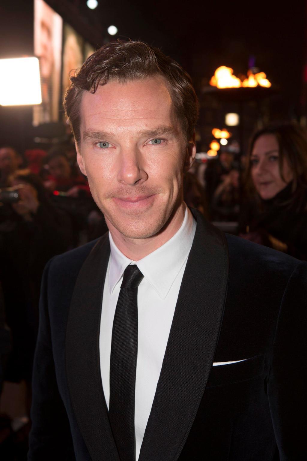 Benedict Cumberbatch London premiere
