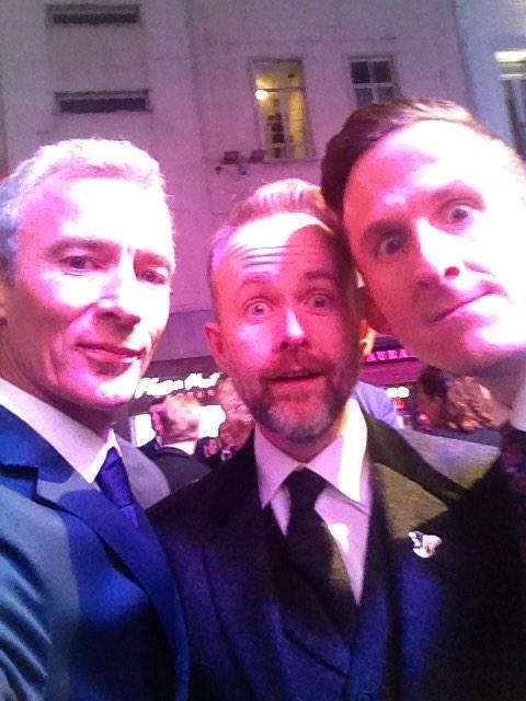 Boyd dwarves London premiere