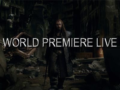 World premiere live