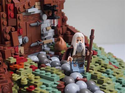 Couverture lego
