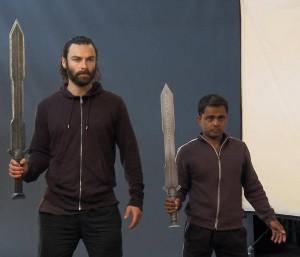 Ravi et Aidan Turner, les deux hommes derrière Kili