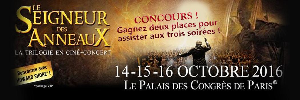 Le Seigneur des Anneaux en ciné-concert !