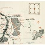 Carte annotée quart Nord Est