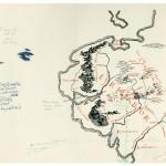 Carte annotée quart Nord Ouest