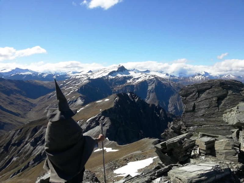Un tour de la Terre du Milieu – Frogs NZ
