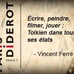 Vincent Ferré en conférence à Paris VII