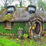 A la découverte d'une maison de Hobbit