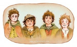 hobbits ullakko